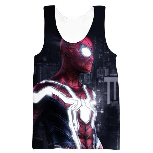 Epic Spiderman Tank Top - Hero Themed Clothing - Hoodie Now