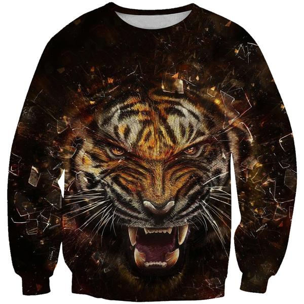 Epic Tiger Sweatshirt - Tiger Clothing - Hoodie Now
