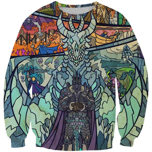 Epic WoW Lich King Sweatshirt - World of Warcraft Clothes