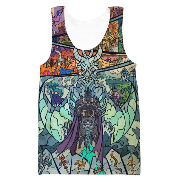 Epic WoW Lich King Tank Top - World of Warcraft Clothes - Hoodie Now