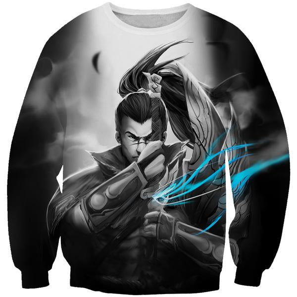 Epic Yasuo Sweatshirt - League of Legends Yasuo Clothing - Hoodie Now