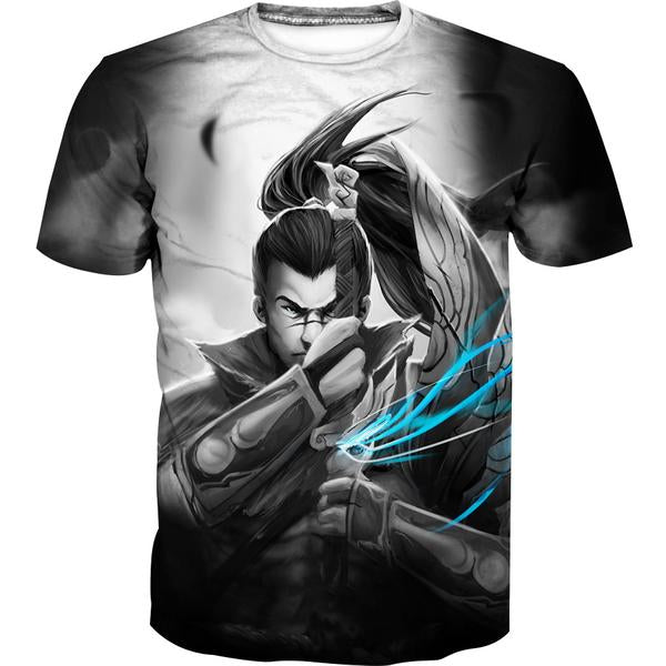 Epic Yasuo T-Shirt - League of Legends Yasuo Clothing