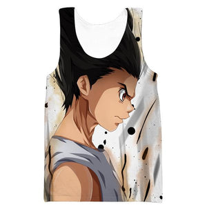 Fierce Gon Tank Top - Gon Hunter x Hunter Clothing