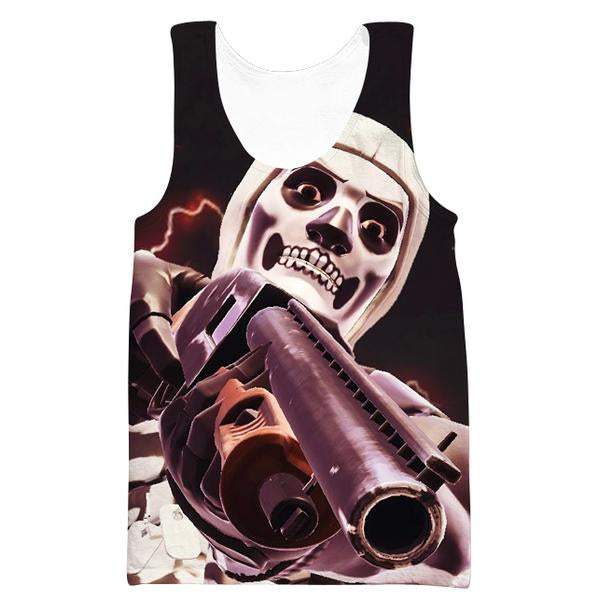 Fortnite Battle Royale Skull Trooper Tank Top - Fortnite Shirts