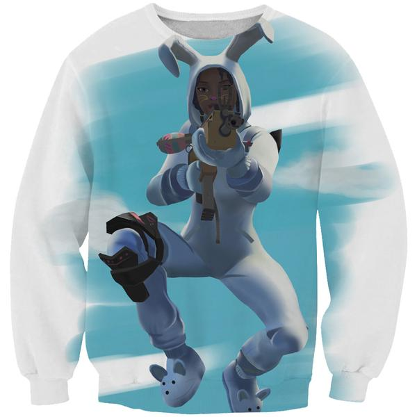 Fortnite Bunny Brawler Skin Sweatshirt - Fortnite Clothing