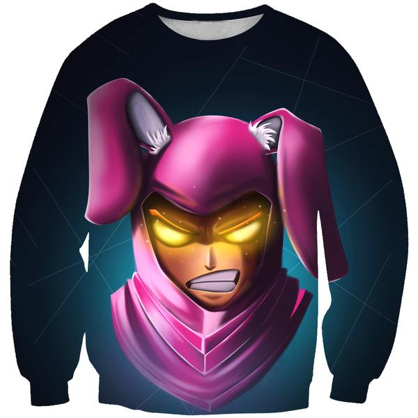 Fortnite Bunny Skin Sweatshirt - Fortnite Clothing and Sweaters