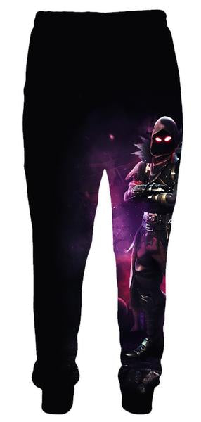 Fortnite Clothes - Fortnite Raven Sweatpants - Gaming Clothing