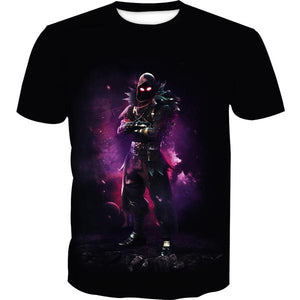 Fortnite Clothes - Fortnite Raven T-Shirt - Gaming Clothing