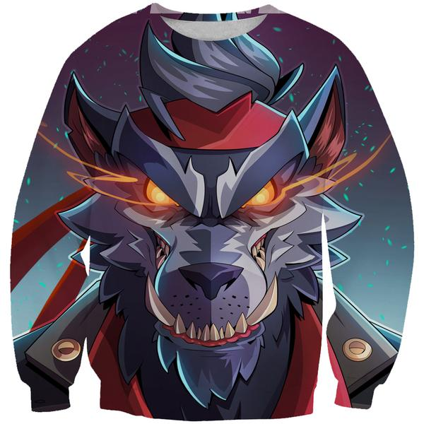Fortnite Direwolf Skin Sweatshirt - Direwolf Fortnite Clothes
