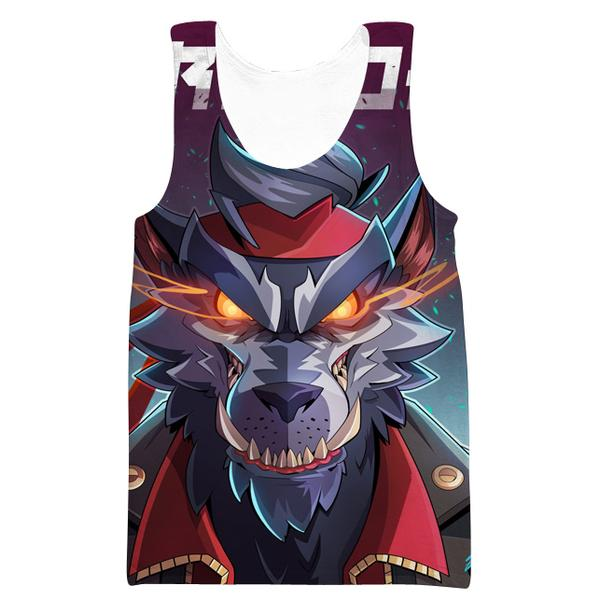 Fortnite Direwolf Skin Tank Top - Direwolf Fortnite Clothes