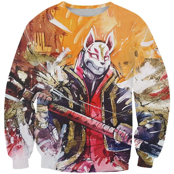 Fortnite Drift Skin Sweatshirt - Fortnite Clothing