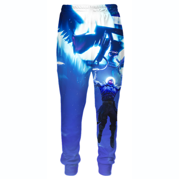 Fortnite Landing Raven Sweatpants - Fortnite Clothing