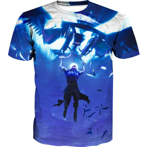 Fortnite Landing Raven T-Shirt - Fortnite Clothing