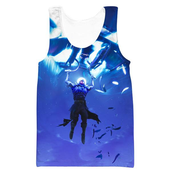 Fortnite Landing Raven Tank Top - Fortnite Clothing