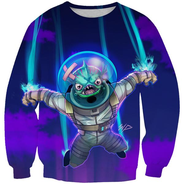 Fortnite Leviathan Skin Sweatshirt - Fortnite Clothing and Sweaters