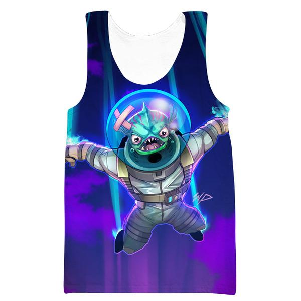 Fortnite Leviathan Skin Tank Top - Fortnite Clothing and Gym Shirts