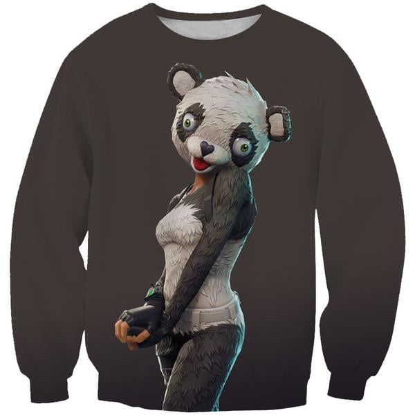 Fortnite Panda Skin Sweatshirt -Fortnite Battle Royale Clothes