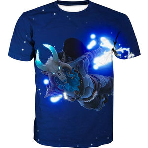 Fortnite Ragnarok Skin T-Shirt -Fortnite Battle Royale Clothes