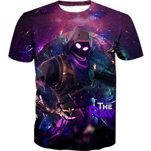 Fortnite Shirts - Raven Skin T-Shirt - Fortnite Clothing