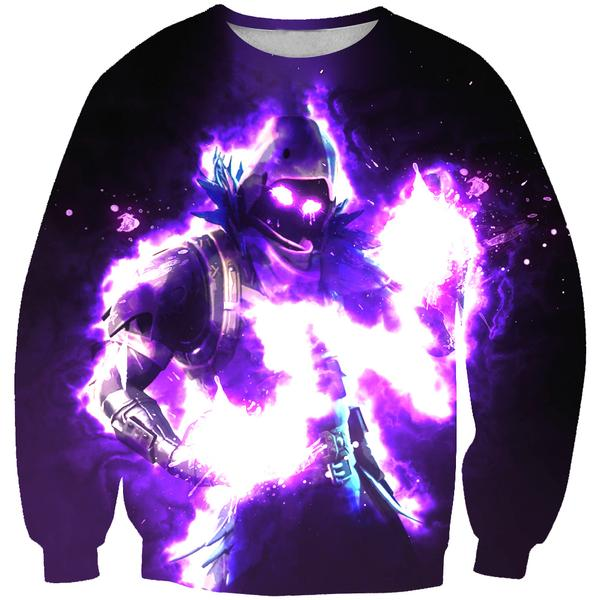 Fortnite Sweaters - Epic Raven Sweatshirt - Fortnite Clothes