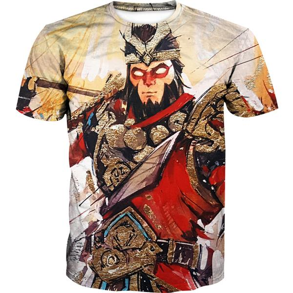 Fortnite Wukong Skin T-Shirt -Fortnite Skins Clothing