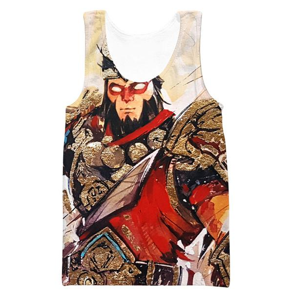 Fortnite Wukong Skin Tank Top -Fortnite Skins Clothing