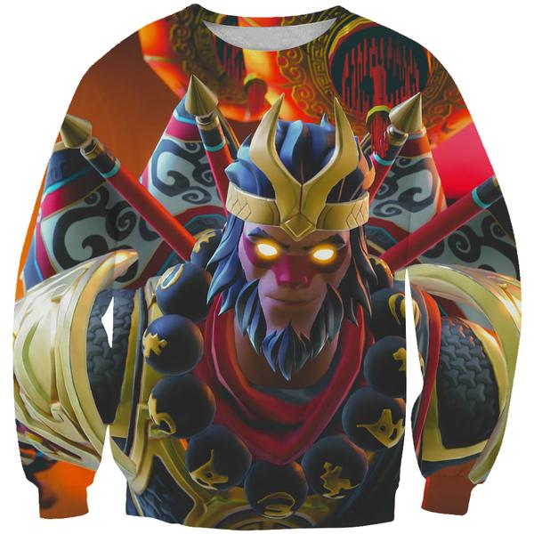 Fortnite Wukong Sweatshirt -Fortnite Skins Clothing