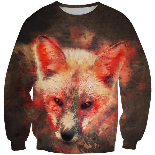 Fox Sweatshirt - Epic Animal Clothing