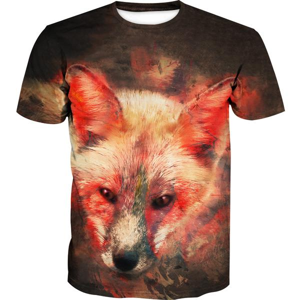 Fox T-Shirt - Epic Animal Clothing - Hoodie Now