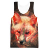 Fox Tank Top - Epic Animal Clothing - Hoodie Now