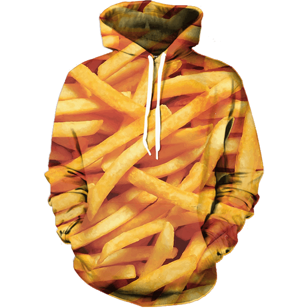 French Fries Hoodie