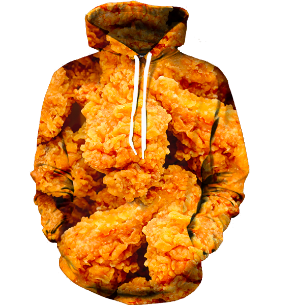 Fried Chicken Hoodie - Funny Food Hoodies - Hoodie Now