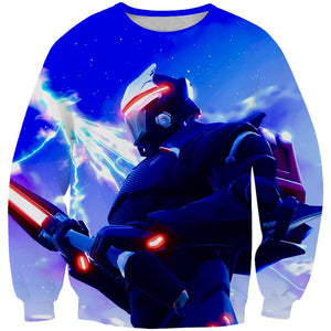 Full Armor Omega Fortnite Sweatshirt - Fortnite Clothing