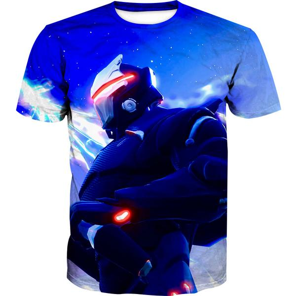 Full Armor Omega Fortnite T-Shirt - Fortnite Clothing