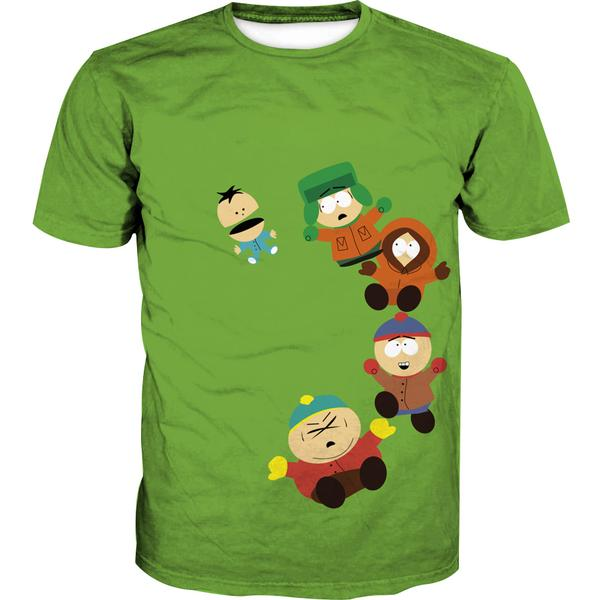 Funny South Park Shirts - Cartman, Stan and Kyle T-Shirt