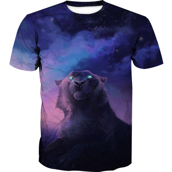 Galaxy Tiger T-Shirt - Epic Space Tiger Clothes - Hoodie Now