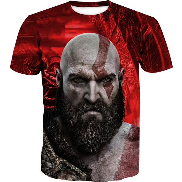 God Of War Clothing - Kratos T-Shirt - Hoodie Now