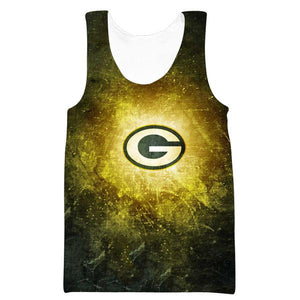 Green Bay Packers Tank Top - Epic Football Packers Clothes