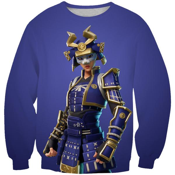 Hime Skin Fortnite Sweatshirt - Fortnite Samurai Clothes