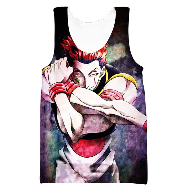Hisoka Card Tank Top - Hunter x Hunter Hisoka Clothes - Hoodie Now