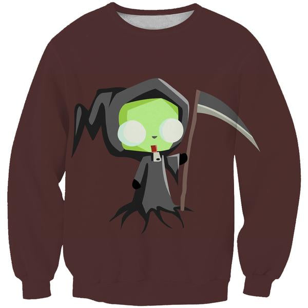 Invader Zim Grim Reaper Sweatshirt - Invader Zim Clothing