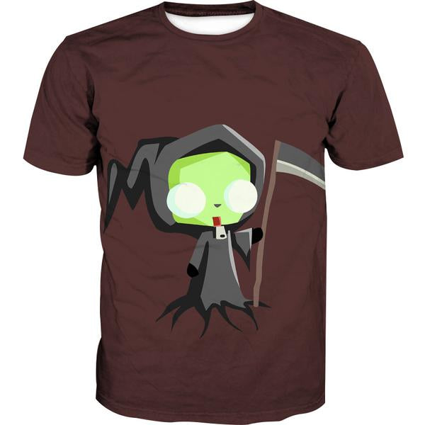 Invader Zim Grim Reaper T-Shirt - Invader Zim Clothing