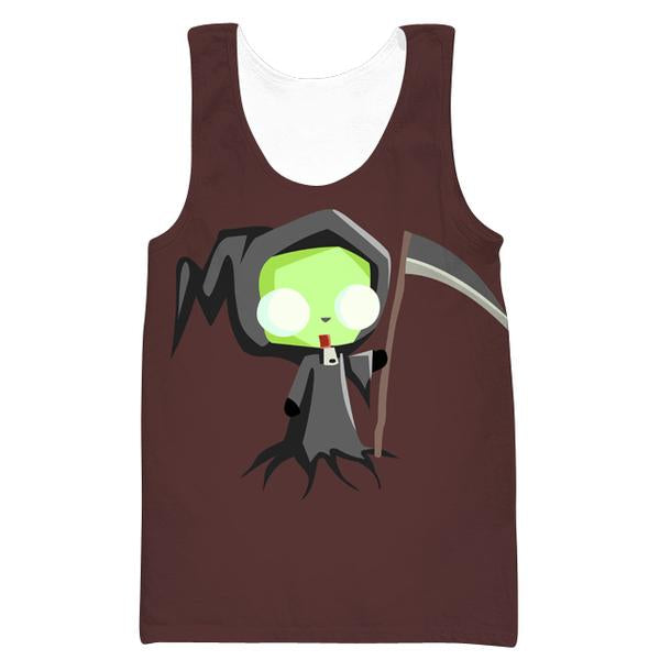 Invader Zim Grim Reaper Tank Top - Invader Zim Clothing