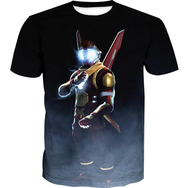 Iron man Fortnite T-Shirt - Fortnite Gaming Clothes