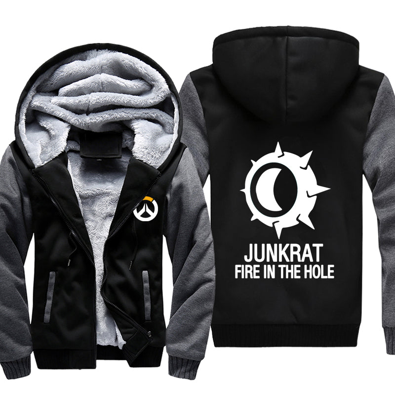 Junkrat Jacket - Overwatch Fleece Jackets