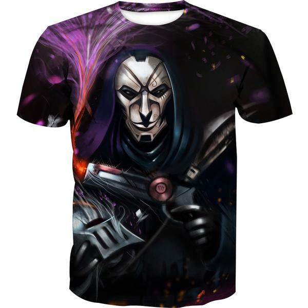 Jhin T-Shirt - League of Legends Jhin Clothing - Hoodie Now
