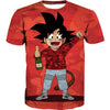Kid Goku Bape T-Shirt Cosplay - Dragon Ball Bape Clothes - Hoodie Now