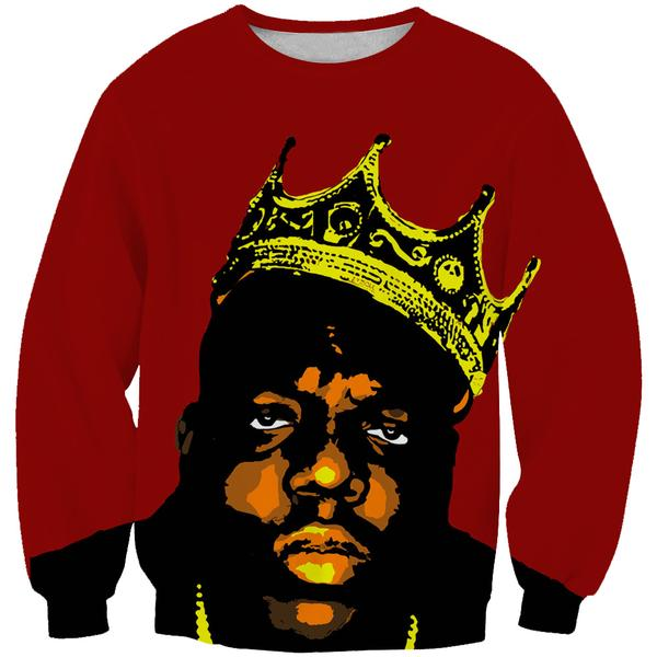 King Notorious Big Sweatshirt - Biggie Clothing - Hoodie Now