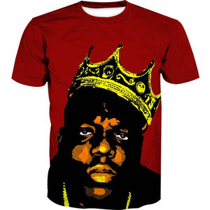 King Notorious Big T-Shirt - Biggie Clothing