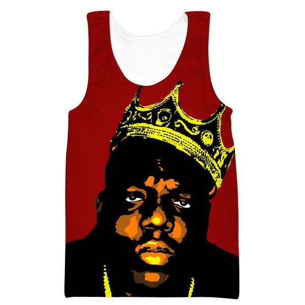King Notorious Big Tank Top - Biggie Clothing - Hoodie Now
